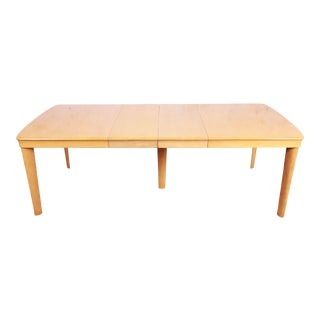 Heywood Wakefield Mid-Century Modern Solid Maple Extension Dining Table, 1950s For Sale