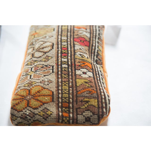 Original and exclusive to Old New House, this handmade pillow features a reclaimed, hard-to-come-by, vintage Caucasian rug...