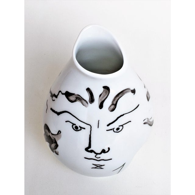 Jean Cocteau for Classic Rose Rosenthal Group Vase For Sale In Miami - Image 6 of 11