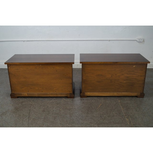 John Widdicomb Widdicomb Sunflower Carved Chests - A Pair For Sale - Image 4 of 10