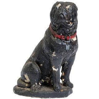 1940s Concrete Bulldog For Sale