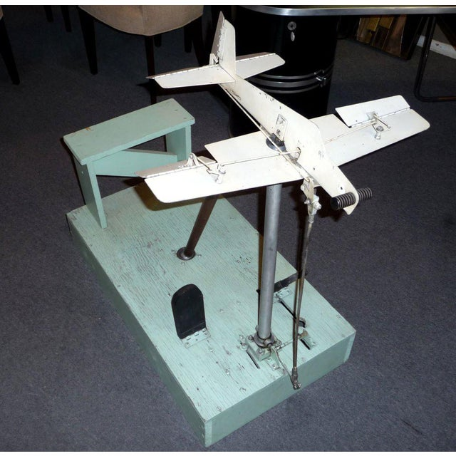1930's Mechanical Flight Simulator For Sale - Image 4 of 9