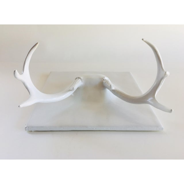 Paint Erich Ginder Ghost Antler Coat Rack Contemporary Design For Sale - Image 7 of 8