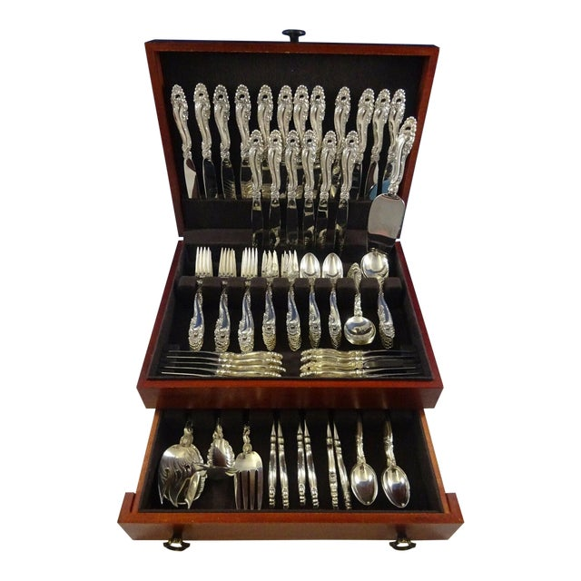 Decor by Gorham Sterling Silver Flatware Set for 18 Service - 132 Pieces For Sale
