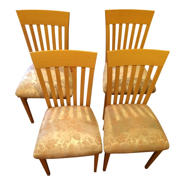 A. Sibau Italian Vintage Dining Room Chairs - Set of 4 - Image 1 of 7