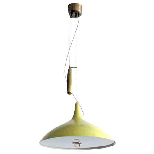 Paavo Tynell Counter Weight Chandelier For Sale