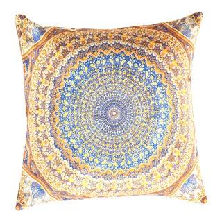 Traditional Velvet Pillow 16' X 16' For Sale