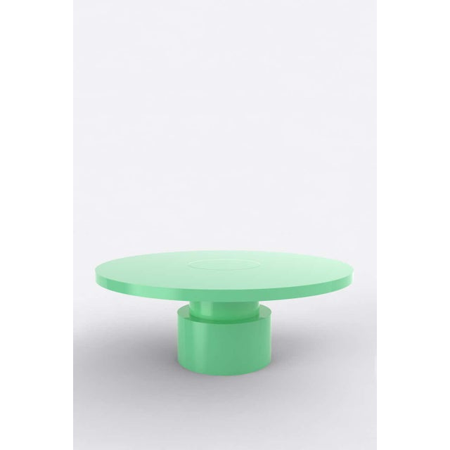 Postmodern Contemporary 100C Coffee Table by Orphan Work, 2020, Mint For Sale - Image 3 of 3