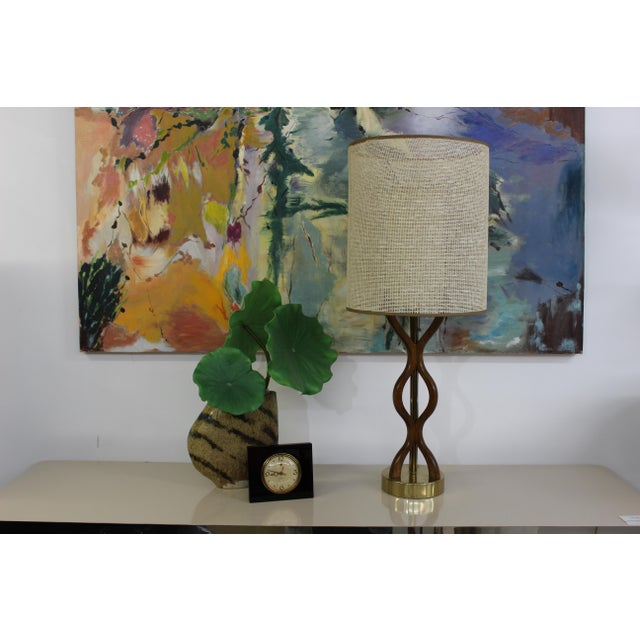 Mid Century Modern danish table lamp For Sale - Image 10 of 11
