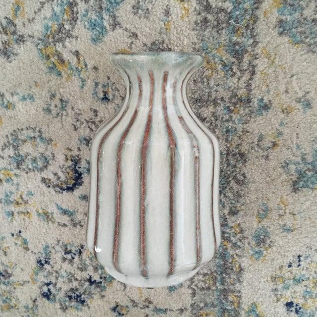 Mid-Century Modern Glazed Pottery Vase - Image 3 of 11