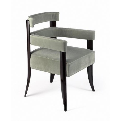 Contemporary Studio van den Akker Paolo Arm Dining Chair For Sale - Image 3 of 3