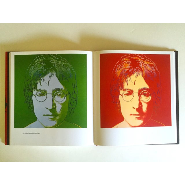 """This """" Andy Warhol Portraits """" rare first edition vintage 1993 iconic collector's volume hardcover art book with dust..."""