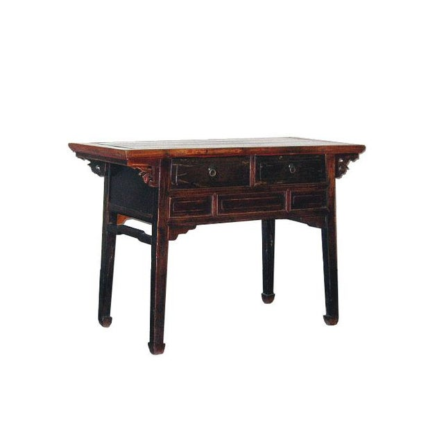 Antique Qing Dynasty Chinese Desk For Sale