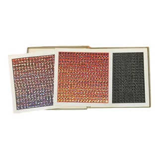 1972 Vintage Todd Smith Op Art Signed & Numbered Prints - Set of 3 For Sale