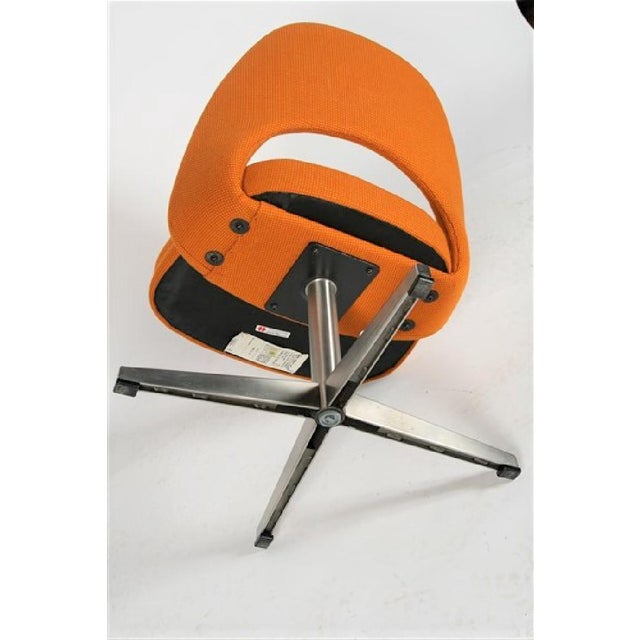Eero Saarinen for Knoll X-base Swivel Side Chair For Sale In Chicago - Image 6 of 6