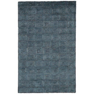 Jaipur Living Harkness Handmade Geometric Area Rug - 9′ × 13′ For Sale