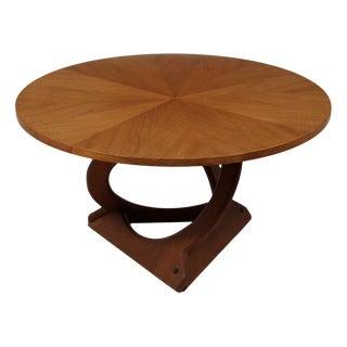 Teak Coffee Table by Søren Georg Jensen for Kubus For Sale