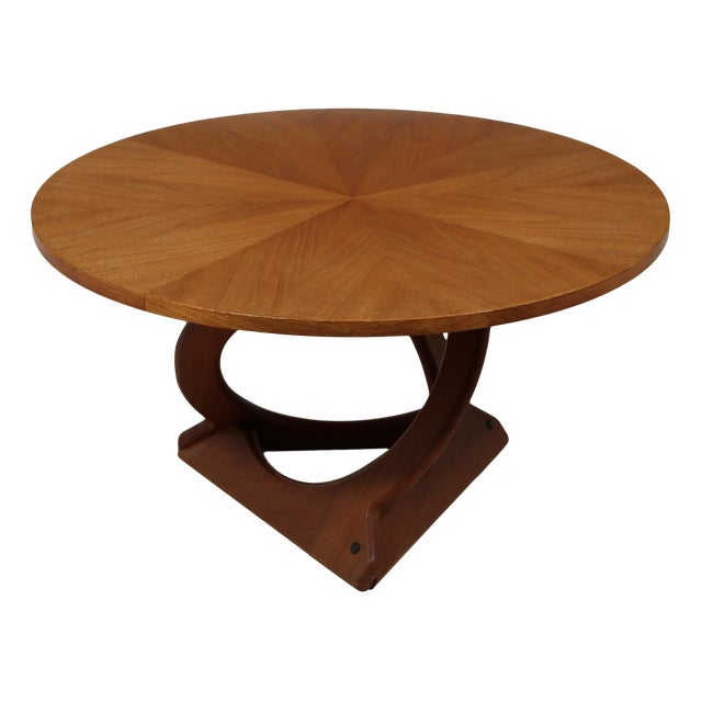 Teak Coffee Table by Søren Georg Jensen for Kubus For Sale