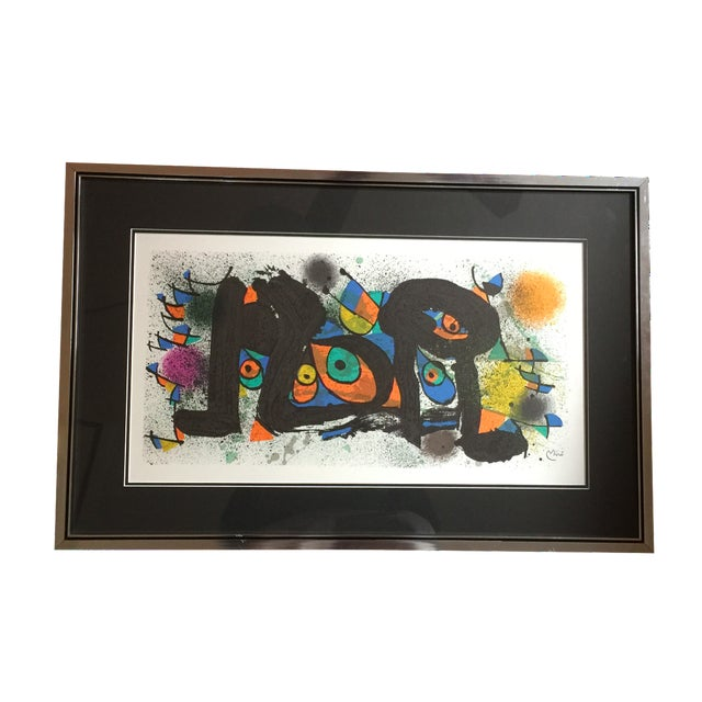Joan Miro Signed Lithograph - Sculpture, Plate 1 - Image 1 of 5