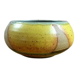 Drip Glaze Pottery Bowl For Sale