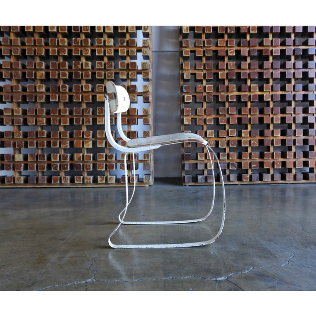 """1940s Herman H. Sperlich for Ironrite """"Health"""" Chair For Sale - Image 13 of 13"""