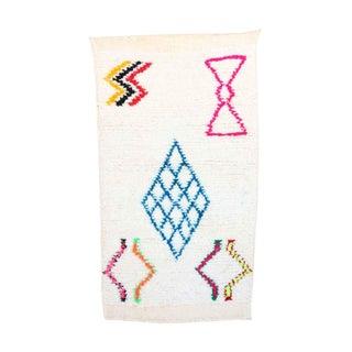 """Beni Ourain Moroccan Rug, 1'11"""" x 4'3"""" feet"""