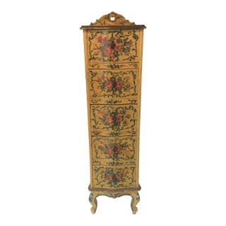 19th Century Venetian Painted Lingerie Chest For Sale