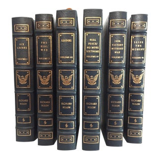 Nixon's Lifetime Works, Easton Press Signed Ltd. Edition Leatherbound Volumes - Set of 6 For Sale