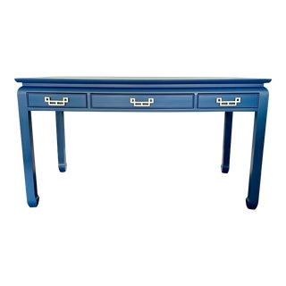 Century Chin Hua Lacquered Writing Desk For Sale