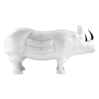 White Rhino With Drawers by Sylvan San Francisco For Sale