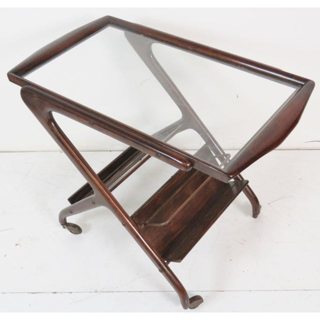 Ico Parisi Style Bar Cart - Image 3 of 7