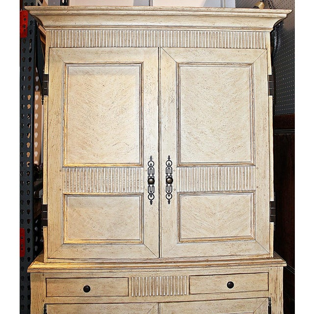 Baker Linen Press Armoire - Image 3 of 12