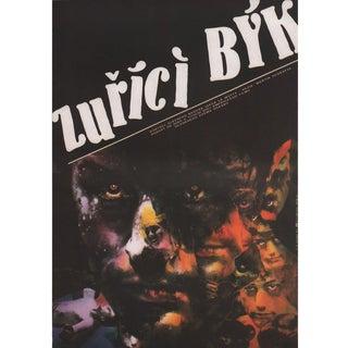 Raging Bull 1987 Czech A3 Film Poster For Sale
