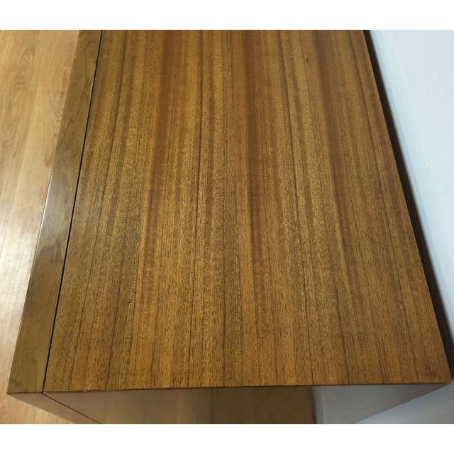 Zebra Wood and Brass 12 Drawer Dresser - Image 6 of 11