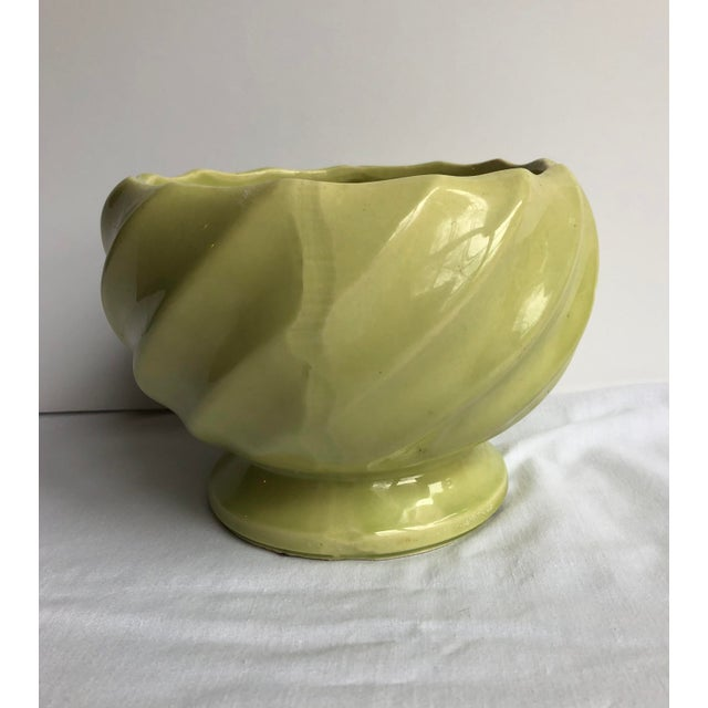 Mid 20th Century Green Pottery Collection - Set of 3 For Sale - Image 10 of 12