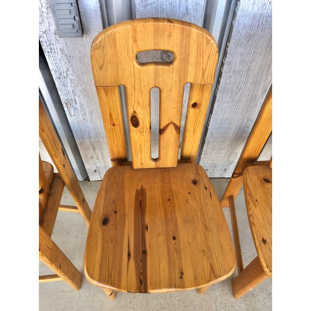 1970s 1970's French Dining Chairs For Sale - Image 5 of 6