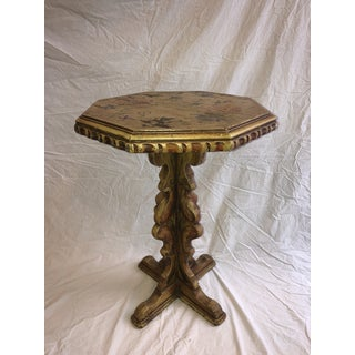 1960s Rustic Painted Side Table Preview