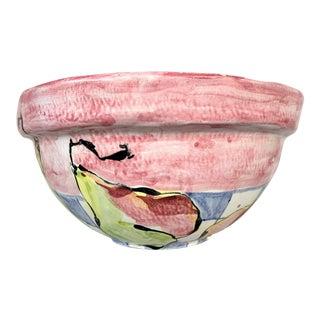Vintage Pear Bowl For Sale
