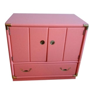 Drexel Accolade Campaign Coral Nightstand