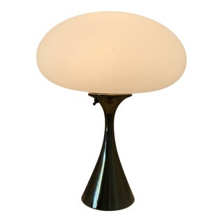 Midcentury Brass Mushroom Table Lamp by Bill Curry for Laurel For Sale