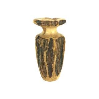 Hand-Turned Wood Vase