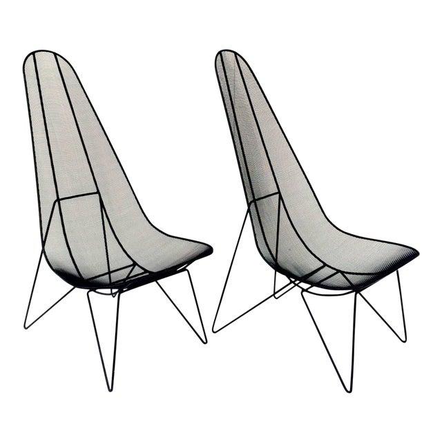 Pair of Sol Bloom Scoop Chairs - Image 1 of 10