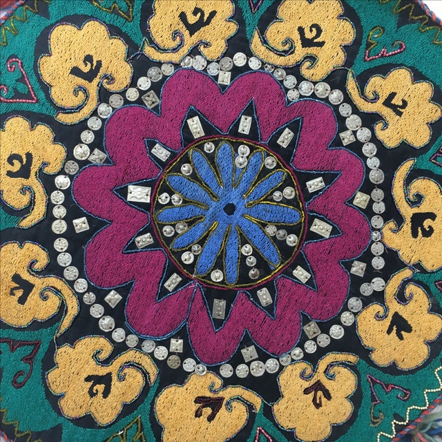 Ethnic Wall Medallion Tapestry - Image 5 of 8