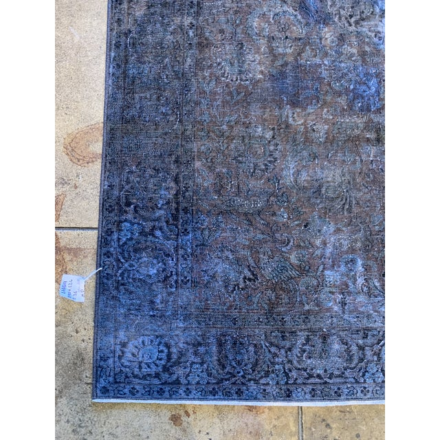 1940s Turkish Silk Rug For Sale - Image 4 of 7