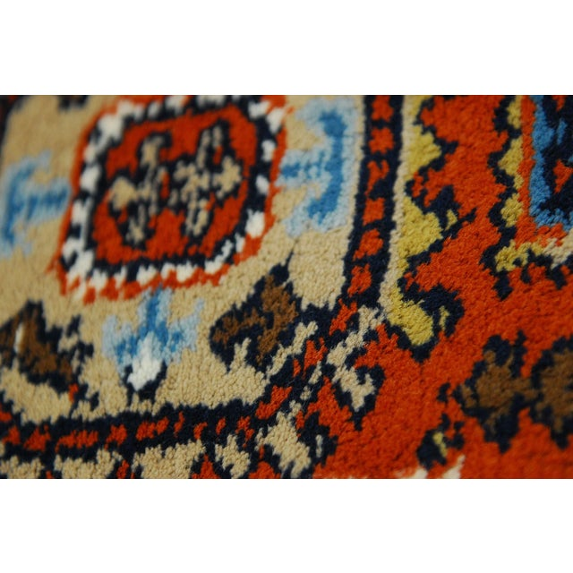 Tribal Meshkin-Style Carpet - 2′6″ × 4′3″ For Sale - Image 5 of 5