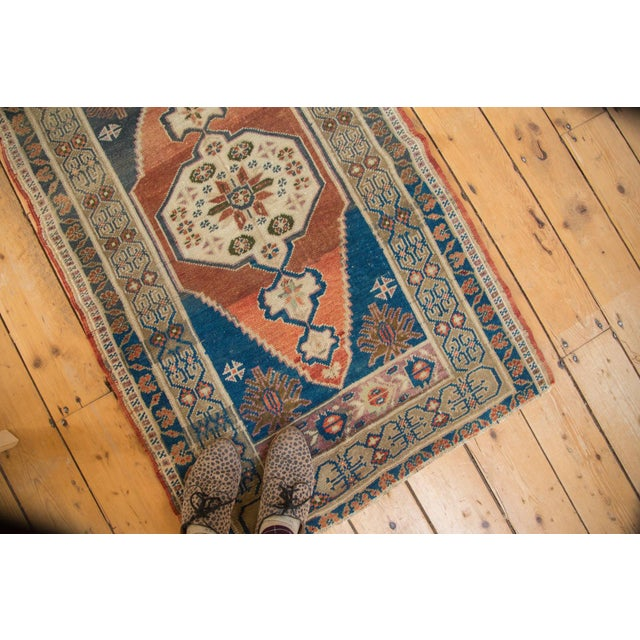 """Vintage Oushak Rug - 2'8"""" x 4'2"""" For Sale - Image 4 of 10"""