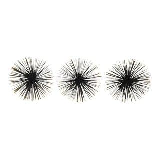 "10"" Sea Urchins Wall Decor - Set of 3"