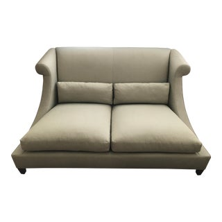 Baker Villa Light Green Sofa For Sale