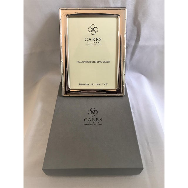 Sterling Silver Frame's Carrs of Sheffield Frames - A Pair - Image 8 of 10