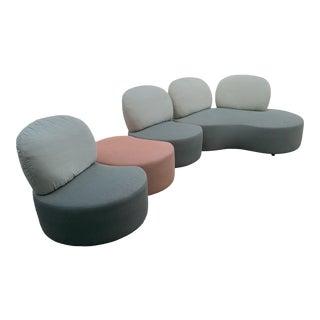 Vladimir Kagan Style Modular Sofa For Sale